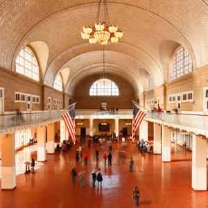The Great Hall - Ellis Island